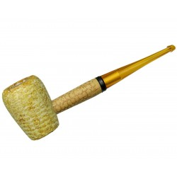 Pipa Maiz Legend Rob Roy Straight Recta Missouri Meerschaum Corn Cob 6344a
