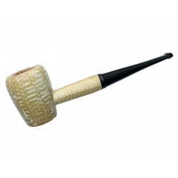 Pipa Maiz Washington Rob Roy Straight Recta Missouri Meerschaum Corn Cob 6345a