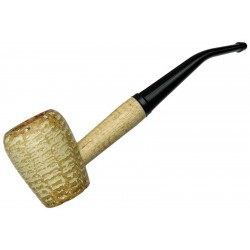 Pipa de Maiz Washington Rob Roy Bent Curvada Missouri Meerschaum Corn Cob 6345b