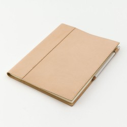 Cubierta de Piel Legitima para Cuaderno MD Leather Cover Notebook A4 Variant - 49846